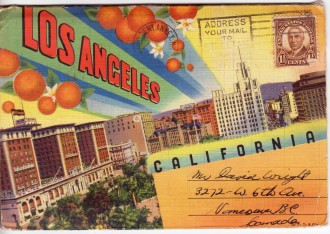 LA Vintage PC Folder frt