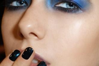 Midnight Blue Nail Polish