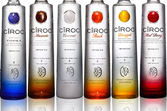 ciroc collection bottles about
