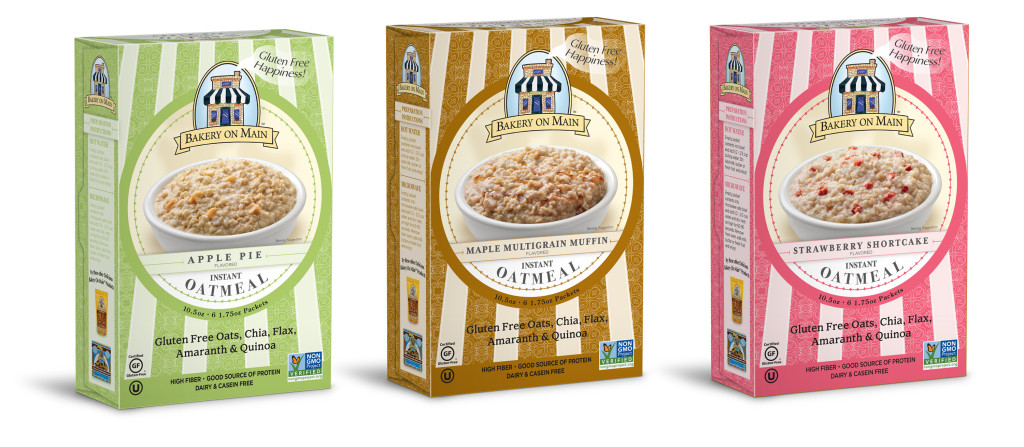 Bakery On Main Instant Oatmeal 3 boxes
