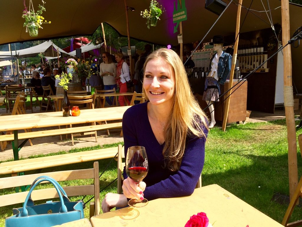 A picture of Nanette Pawelek_at Bacchus Wine Festival