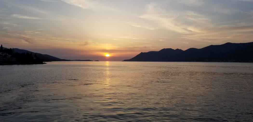 Sunset on the Adriatic Sea 3