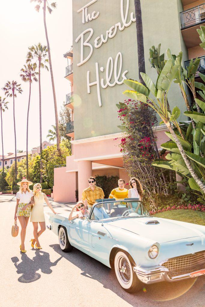 California Cruising Beverly Hills Hotel