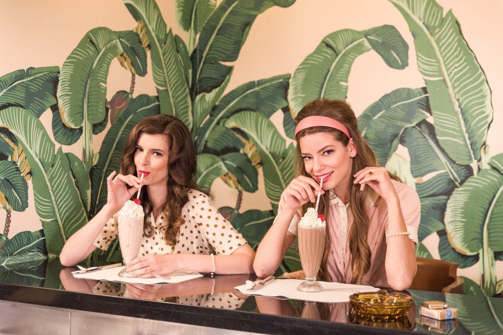 Fountain Room Girls Beverly Hills Hotel