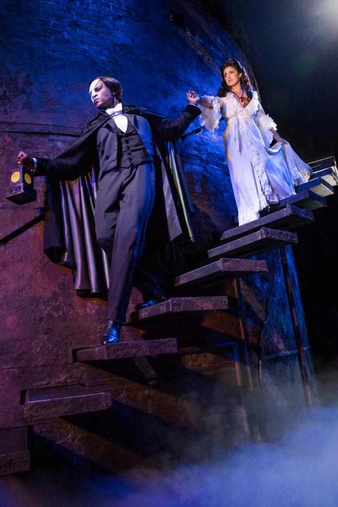 02. THE PHANTOM OF THE OPERA Derrick Davis and Eva Tavares Photo by Matthew Murphy