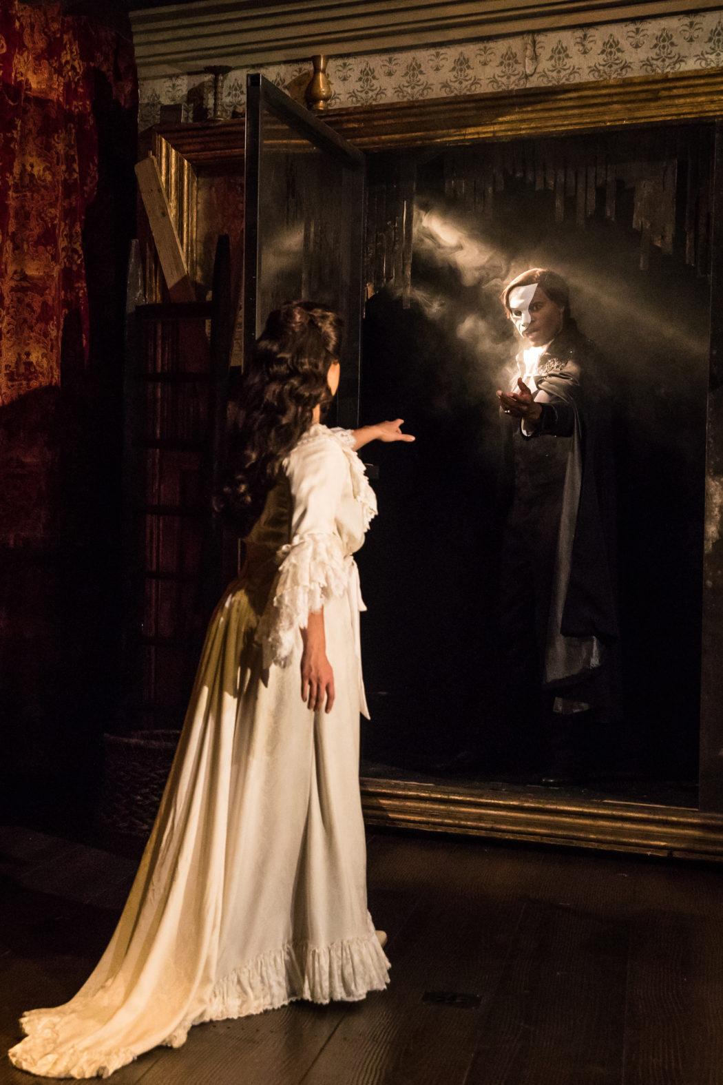 03. THE PHANTOM OF THE OPERA Eva Tavares and Derrick Davis photo by Matthew Murphy