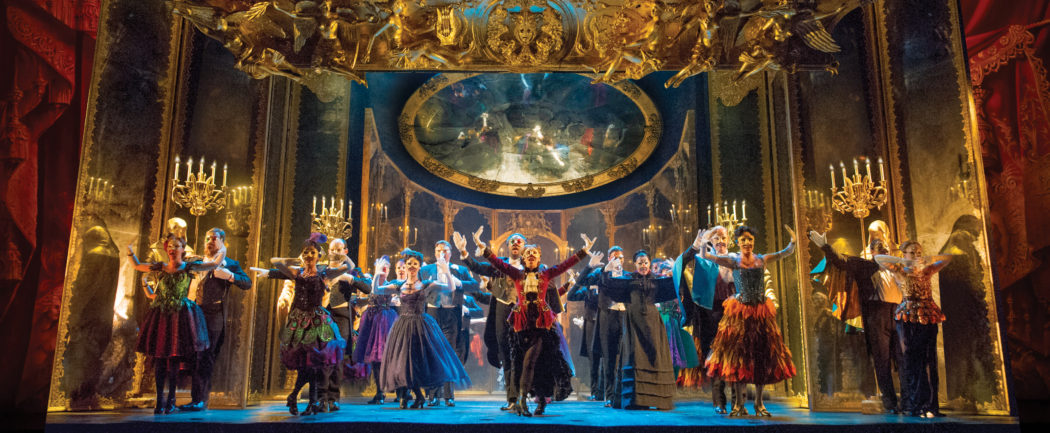 06. THE PHANTOM OF THE OPERA The Company performs Masquerade photo by Alastair Muir