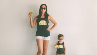 food mother son style matching taco tacos tuesday twinning t20 b80Gdk