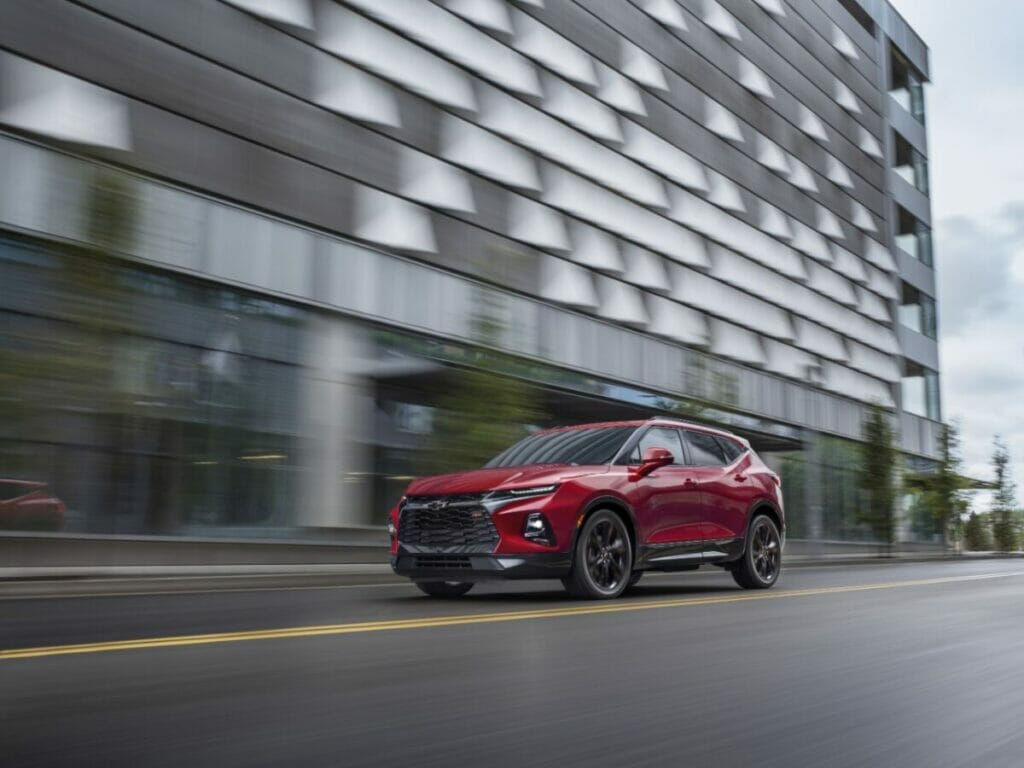 Stranger Things Experience in the 2021 Chevy Blazer RS