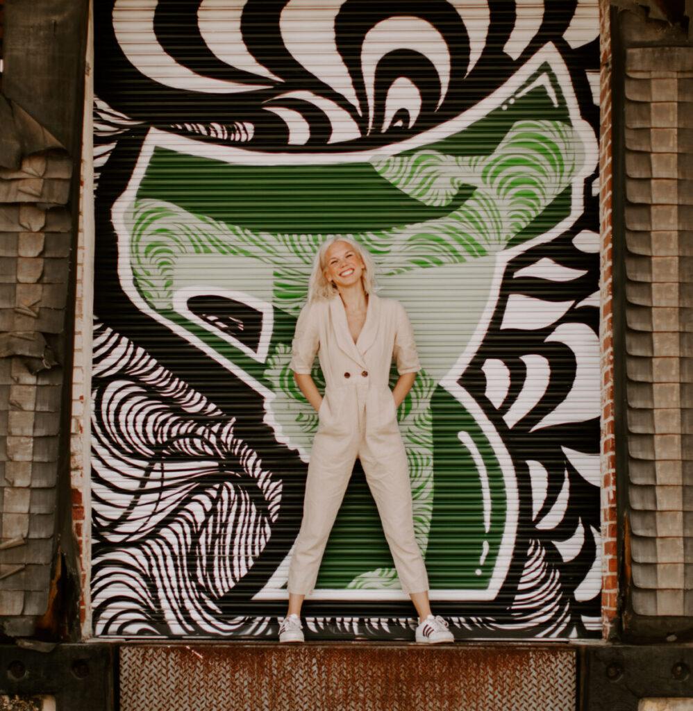 Charlotte North Carolina Optimist Hall Camp North End Influencer Blogger Portraits Robyn Dawn Photos 42