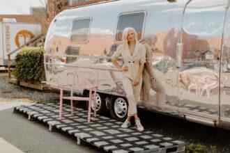 Charlotte North Carolina Optimist Hall Camp North End Influencer Blogger Portraits Robyn Dawn Photos 51
